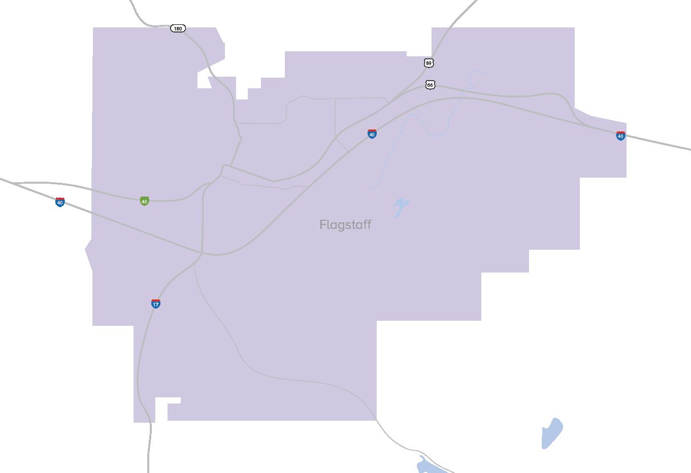 map-flagstaff
