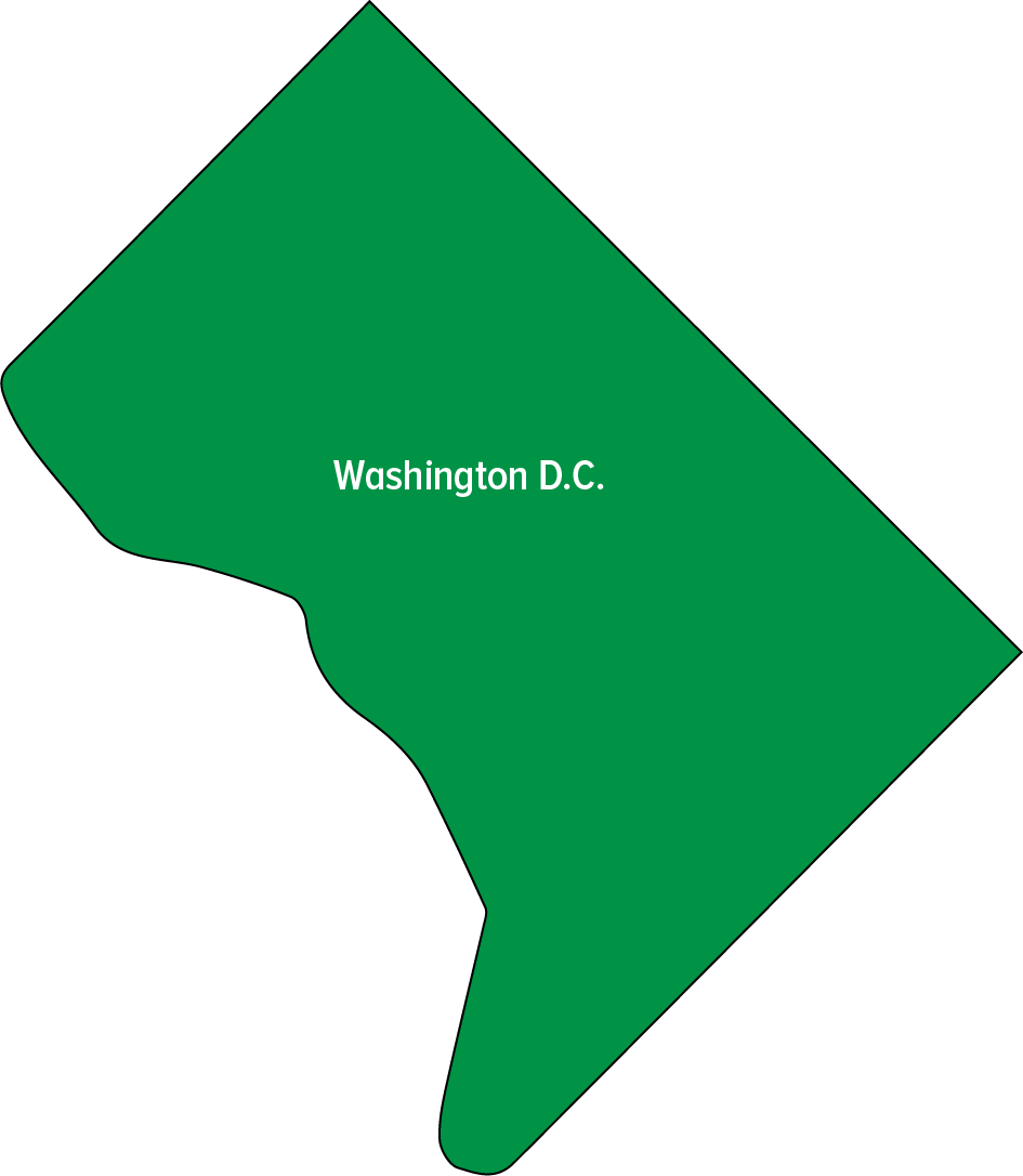 map-Washington DC