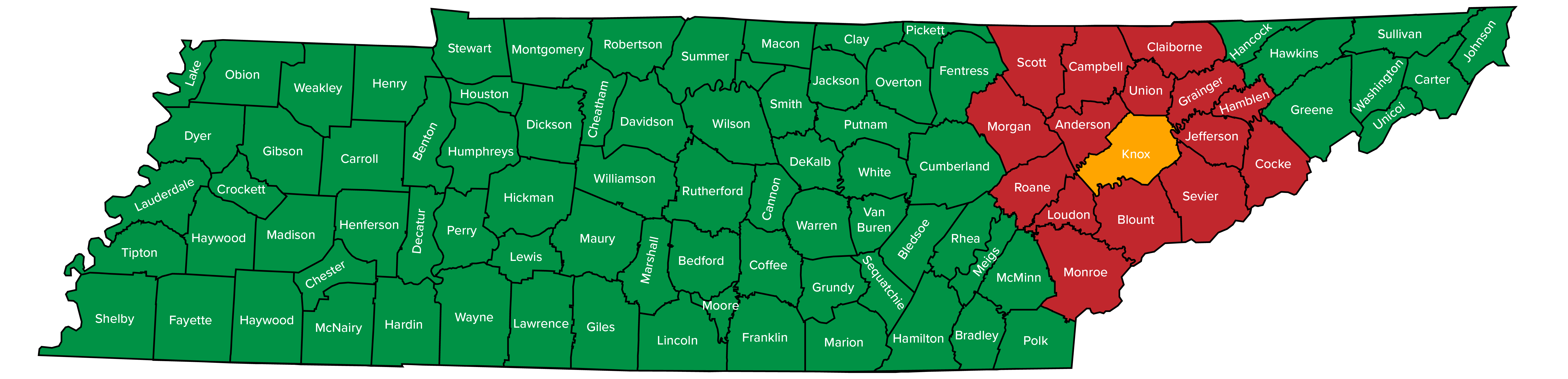 map-Tennessee