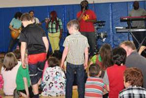 Reggae band plays at the Childhelp Alice C. Tyler Village