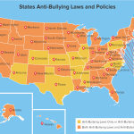 Anti-bullying laws in states (Credit Wallet Hub)
