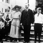 President Calvin Coolidge with family. Photo courtesy of Coolidge Foundation.