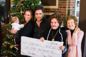 John Stamos Named National Spokesman for Childhelp National Child Abuse Hotline