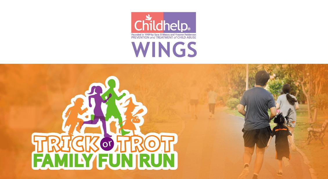 Childhelp Wings • Trick or Trot Family Fun Run